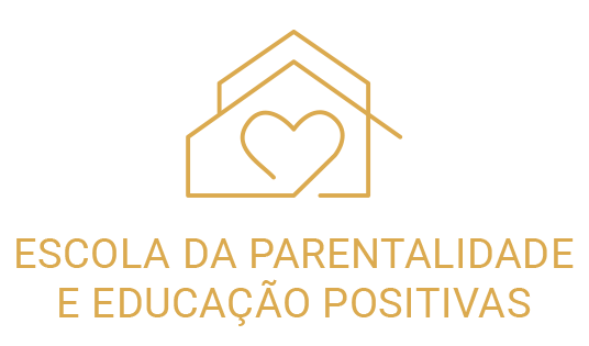 Logo Escola da Parentalidade Positiva - branco